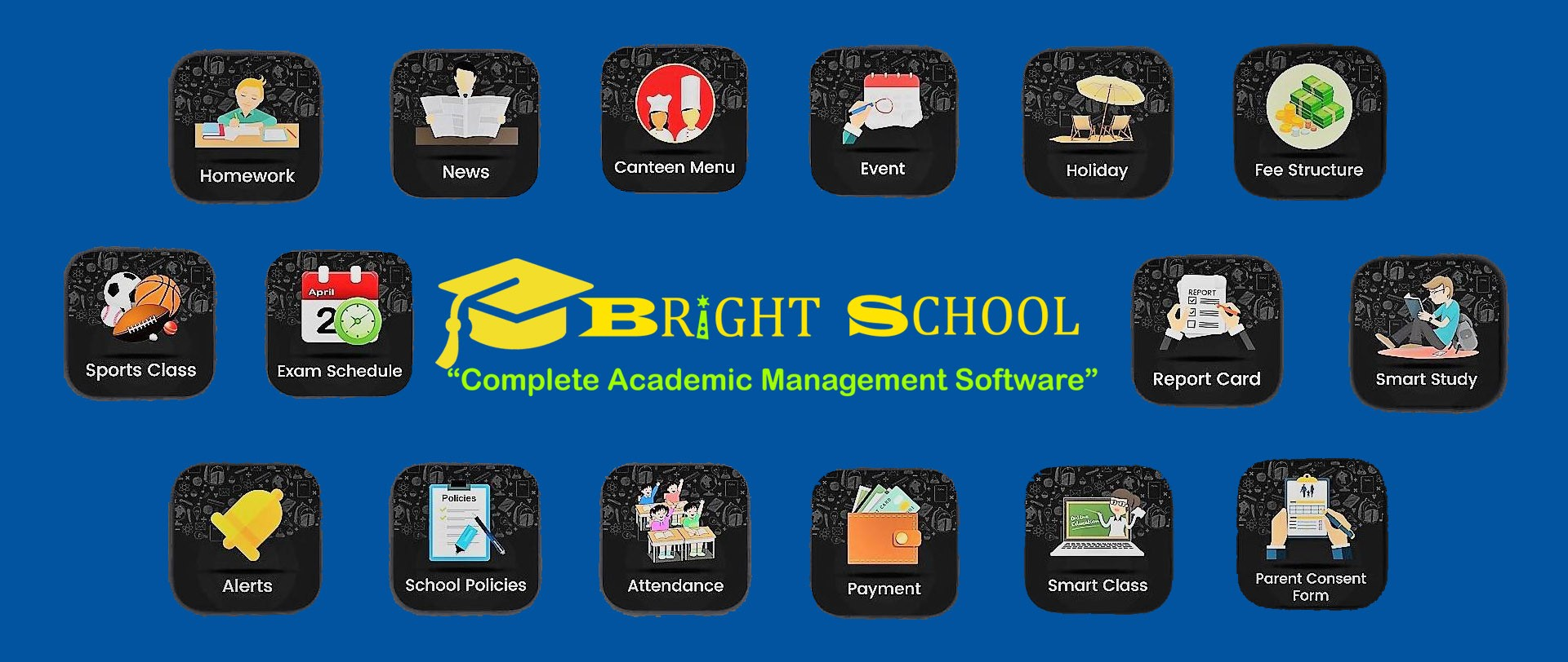 Features of school / College  management system