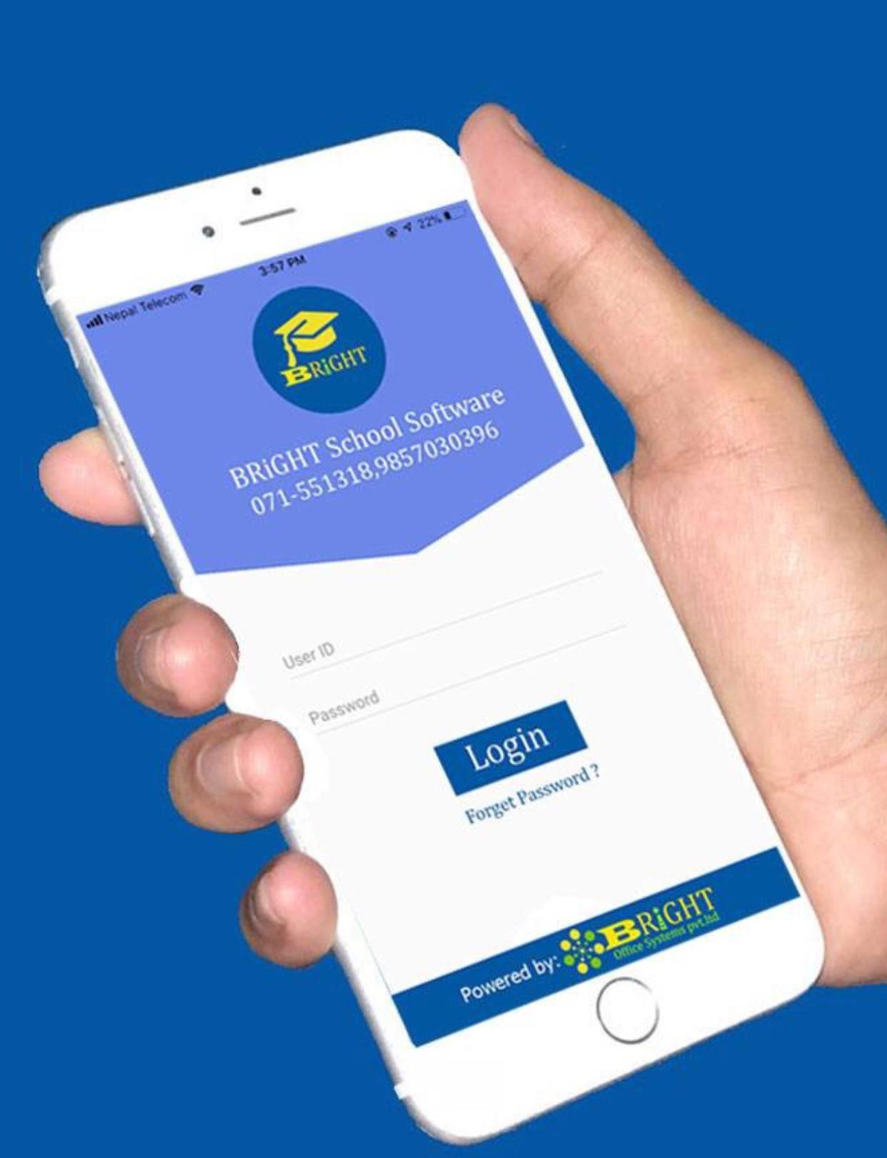 School software mobile app